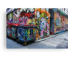 The Graffiti Canvas Print