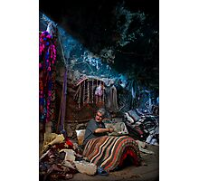 Saddlemaker of Mardin Photographic Print