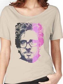 Tim Burton in stripes! Women's Relaxed Fit T-Shirt