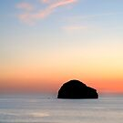 Gull Rock Still Sunset by Swell Photography