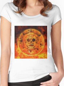 Skull King by Sarah Kirk Women's Fitted Scoop T-Shirt