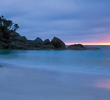 Sunrise - Little Waterloo Bay by Travis Easton