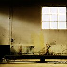 Abandoned industrial garage by farcaphoto