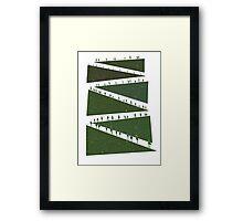 Tiny Forest Framed Print