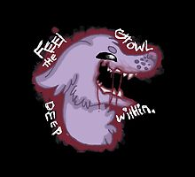 Feel the growl deep within. :CONTAINS GORE: by foxyloxykrabbe