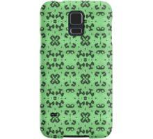 Unique Green Abstract Samsung Galaxy Case/Skin