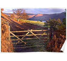 Near Ullswater - The Lake District Poster