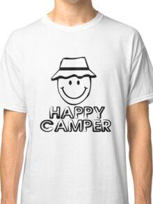 Happy camper geek funny nerd Classic T-Shirt