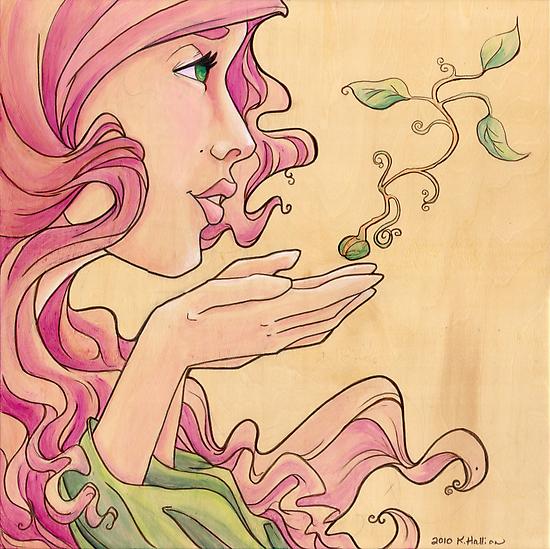 Hope Whispers by Karen  Hallion