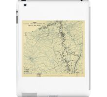 World War II Twelfth Army Group Situation Map October 31 1944 iPad Case/Skin