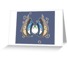 Totoro Matrioska Greeting Card