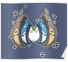 Totoro Matrioska Poster