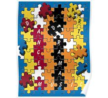 Puzzle Twister Poster