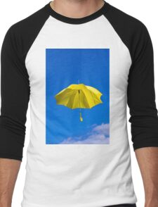 Umbrella and Sky Men's Baseball ¾ T-Shirt