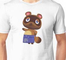 Tom Nook Animal Crossing Print Vector Unisex T-Shirt