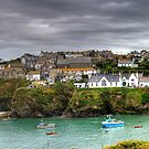 Port Isaac Panorama by David Wilkins
