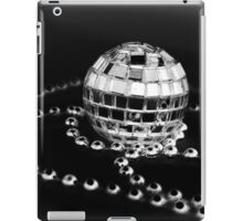 Disco b/w iPad Case/Skin