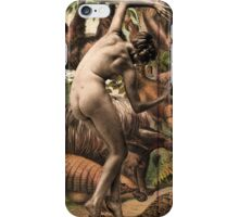 nude with ant eaters iPhone Case/Skin