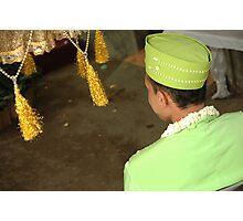 groom  Photographic Print
