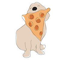 Pizza Dog  by ldrapek
