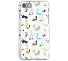 Fluffy Flauffs and flukes iPhone Case/Skin