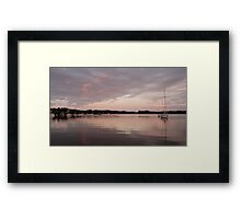 Peaceful Dawn - Baltimore Harbour, West Cork, Ireland Framed Print