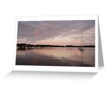 Peaceful Dawn - Baltimore Harbour, West Cork, Ireland Greeting Card
