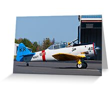 Back to the Hangar Greeting Card