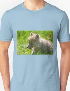 Just smelling the flowers _ Arctic Wolf Pup T-Shirt