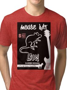 Mouse Rat Concert Poster Tri-blend T-Shirt