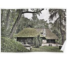 Dracula's Hut Poster