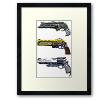 Destiny The last word, Thorn And Hawkmoon Framed Print