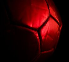 Red ball by LeonaParadoxa
