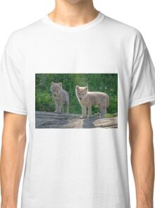Arctic Wolf Pups  Classic T-Shirt