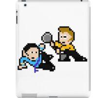 8bit Spock Kirk Amok Time no text iPad Case/Skin