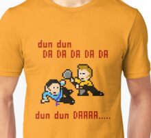 8bit Spock Kirk Amok Time Unisex T-Shirt