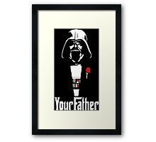 Star Wars - Your Father Framed Print