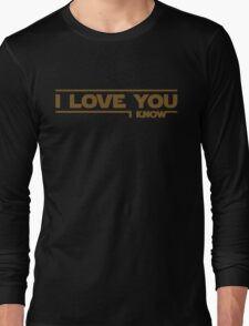 Star Wars - I Love You Long Sleeve T-Shirt