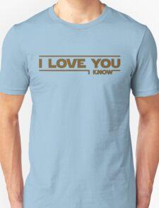 Star Wars - I Love You Unisex T-Shirt