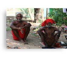 Gypsy Chief and Elder. Canvas Print