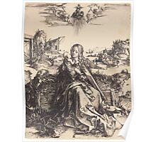 Albrecht Dürer or Durer The Holy Family with the Mayfly Poster