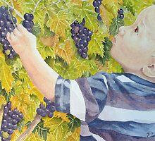 Le Petit Vendangeur (The Little Grape Picker) by FranEvans