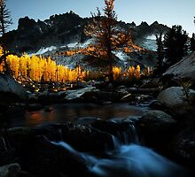 Sunset in the Enchantments - Washington State by palerider