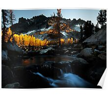 Sunset in the Enchantments - Washington State Poster