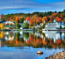 Meredith, NH on Lake Winnipesaukee by Bruce Taylor