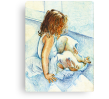 Ballerina Tane Canvas Print
