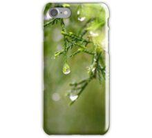 Water Drops iPhone Case/Skin