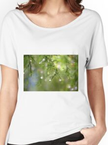 Water Drops Women's Relaxed Fit T-Shirt