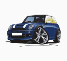 MINI [BMW] (Mk1) Cooper S Works Blue by Richard Yeomans