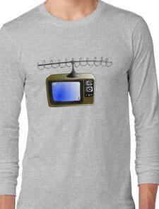Fan of TV - Retro TV Long Sleeve T-Shirt